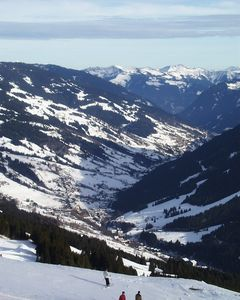 View of Saalbach